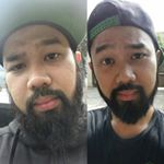 Decembeard 2015 : The before and after they trim my beard.. I havent shaved for almost 5 months.. #beard #beardsofinstagram #beardedmanclub #beardclub #beardgang #decembeard by @eeiboogie