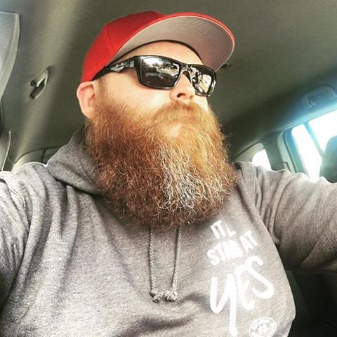 New Bobos fan @glenkilby . What a beast of a beard that is. Looks like one of the zz top dudes in them sunnies. Buy anything from our eBay store or website www.bobosbeardcompany.co.uk this week and automatically get a free Bobos beard bomb oil a intensive weekly beard reviver .#beardoil #movember #beard #weightlifting #lift #trainhard #beardporn #moustache #moustachewax  #beardoil #malegrooming #barberlife #barbershop #barber #decembeard #giveaway #beardedvillians #decembeard #tash #menstyle #gym #fitness by @bobosbeard